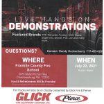 Live Hands on Demonstration Night